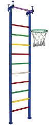 Вертикаль (ГранВиС) Вертикаль-6, шведская стенка с креплением в распор (высота потолка 2.5-2.95 м)