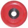 MB Barbell Диск олимпийский цветной обрезиненный, 5 кг (51 мм), серия Евро-классик
