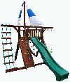 Самсон Детский игровой деревянный комплекс для улицы Фортуна